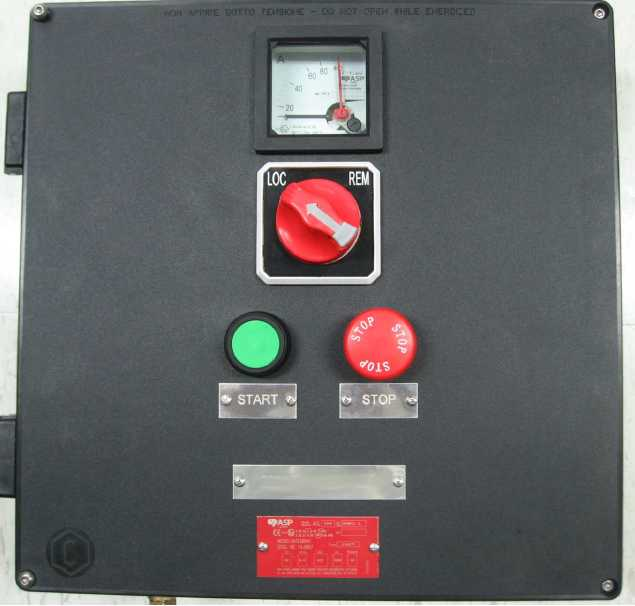 Explosion Proof Local Control Station
