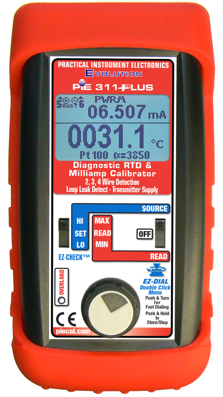 311 Plus  RTD/mA calibrator
