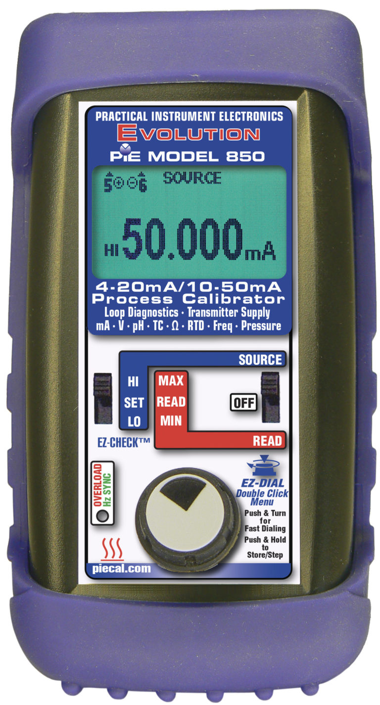 850 10-50mA Multifunction Calibrator